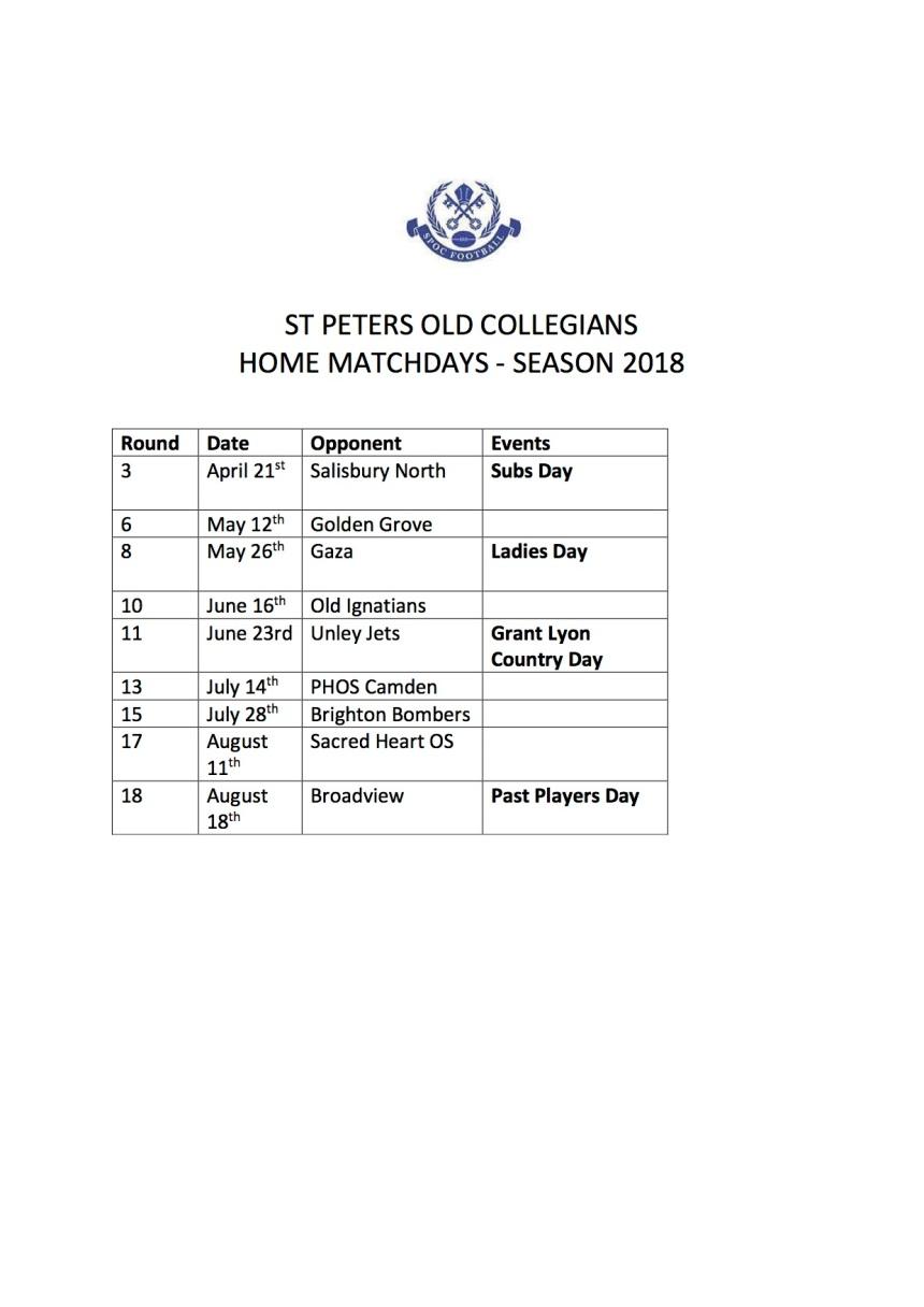 SPOCFC Home Match Programme gr120318